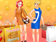 Princesses Street Fashion Shopping